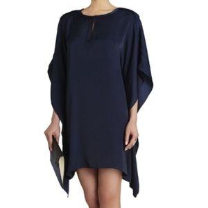 BCBGMaxAzria Jazmine Draped Kimono Dress in Black
